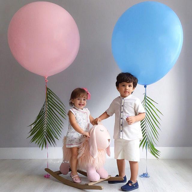 Pink and blue  Renata y Liam en foquerd Fotohellip